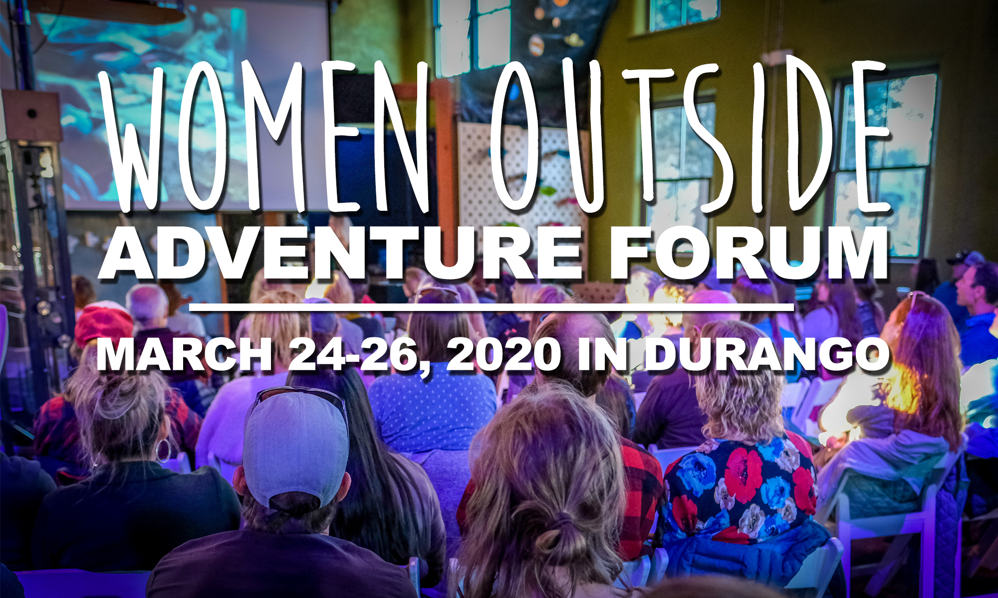 Schedule of Events – Women Outside